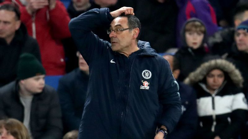 Chelsea boss Sarri worried about poor results not supporters' chants for sacking
