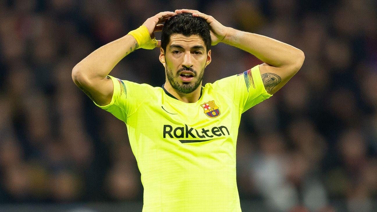 Ernesto Valverde Barcelona persist with goal shy Luis Suarez Lionel Messi form is fine