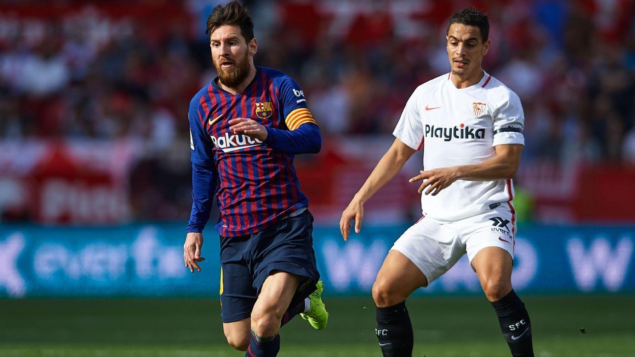 Fantasy LaLiga  Elige al delantero del Sevilla si Messi y Suárez no juegan 607bb044aac3e