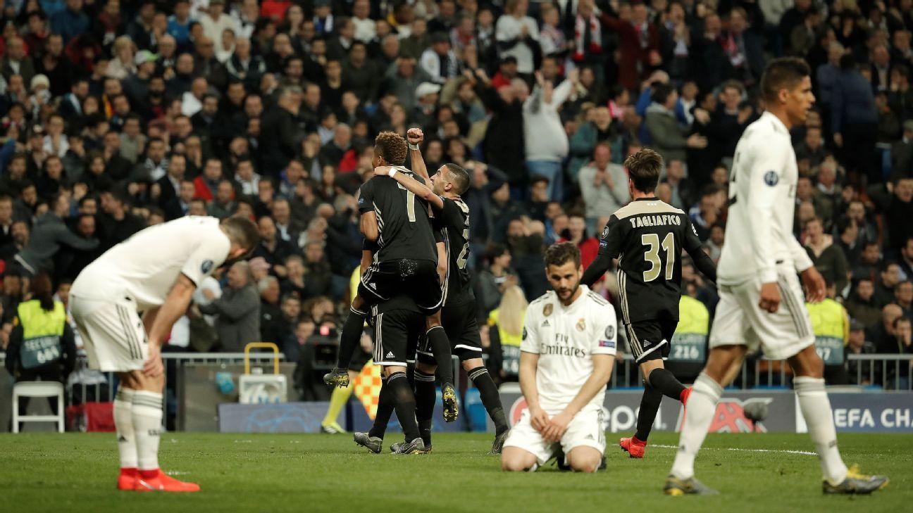 ba8c8d57065 Dani Carvajal declares Real Madrid s season over after Ajax defeat