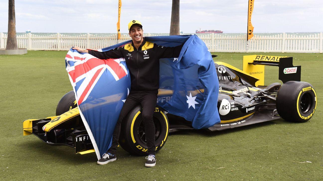 Round-up: Ricciardo pledges to bushfire crisis, Alonso hits trouble in Dakar