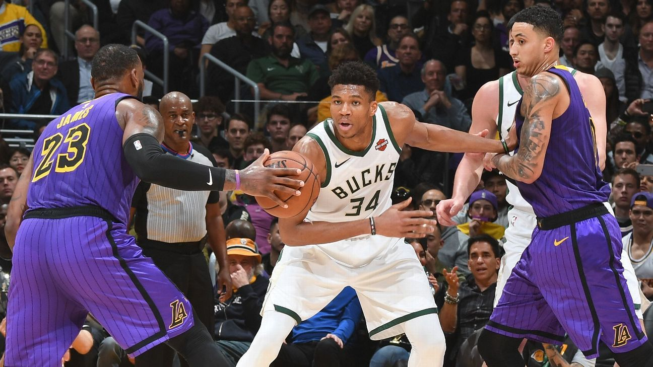 Heavyweights out: Giannis, LeBron not playing
