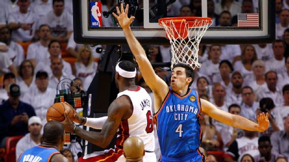 uk availability 17cc2 92994 Mr. Thunder' on having OKC's first retired jersey and why KD ...