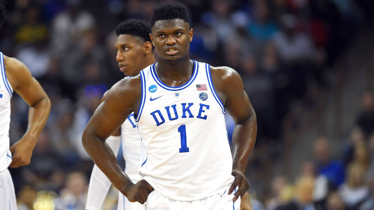 61c3eb89e65b Duke  looking into  claim Nike paid Zion s mother