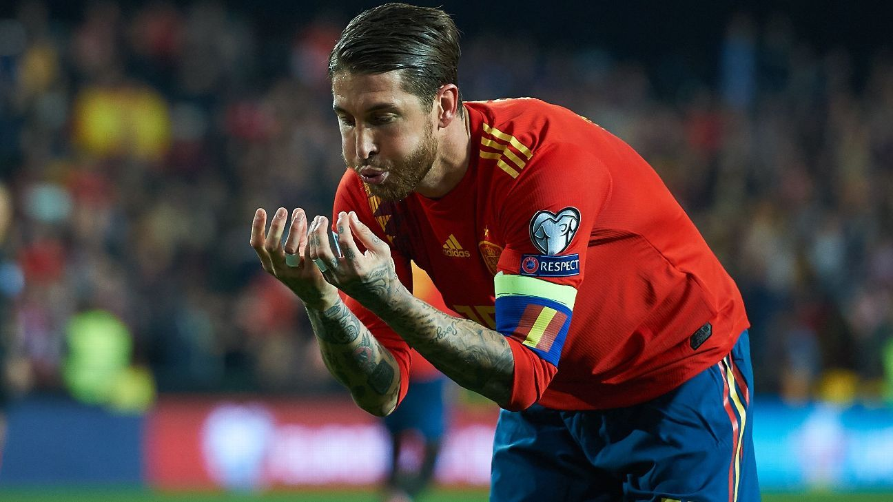 Spain boss Luis Enrique praises 'unique' Ramos after 'Panenka' winner