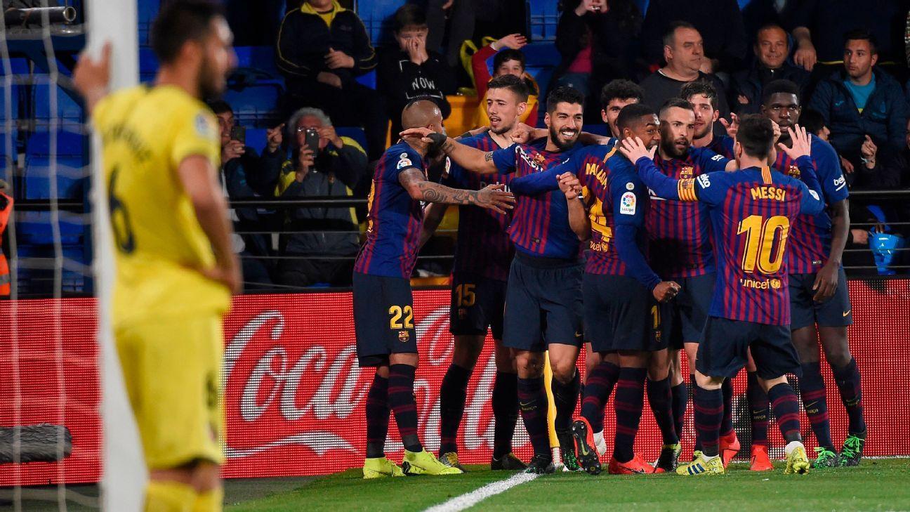 Villarreal vs. Barcelona - Football Match Report - April 2, 2019 ...