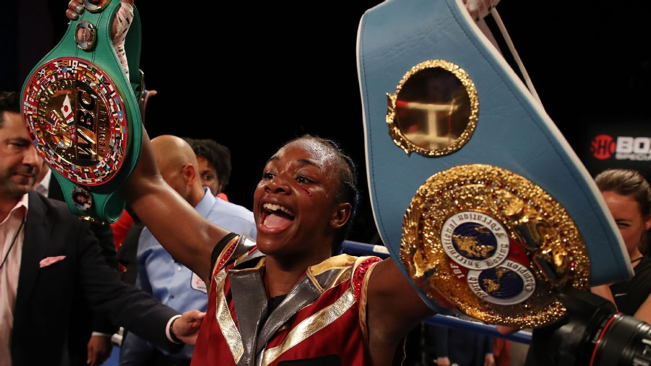 sports shoes 4b66d d5e7b Claressa Shields fighting to be undisputed champion inside and outside the  ring