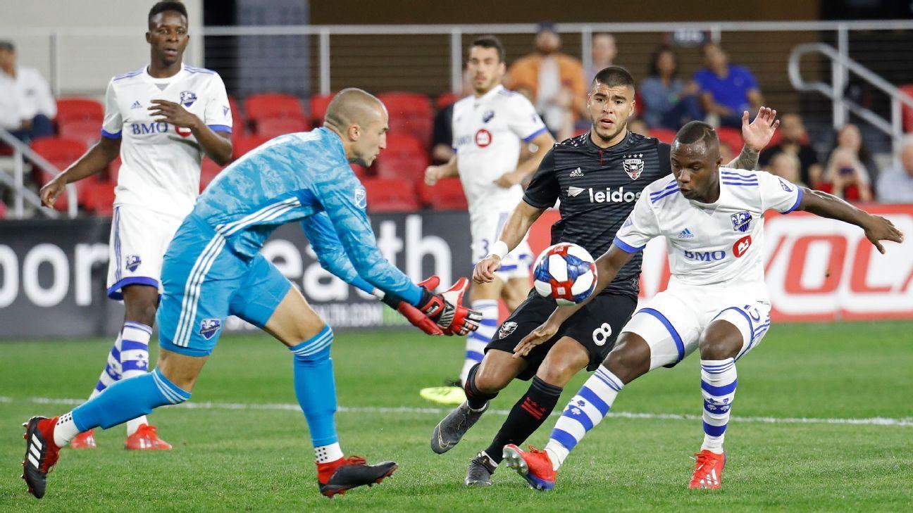 a5cf3a4ff DC United vs. Montreal Impact - Football Match Report - April 9 ...