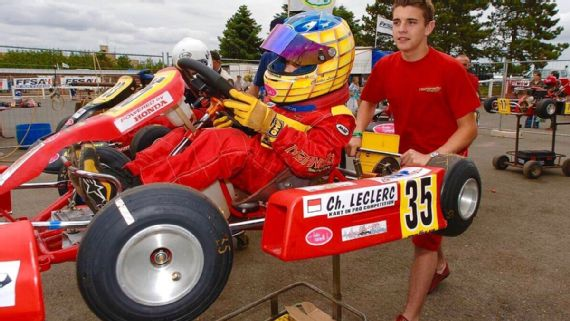 The story behind the unflappable Charles Leclerc