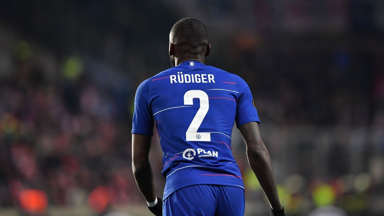 size 40 b45e3 5c77b Chelsea's Rudiger out for season after having surgery on knee