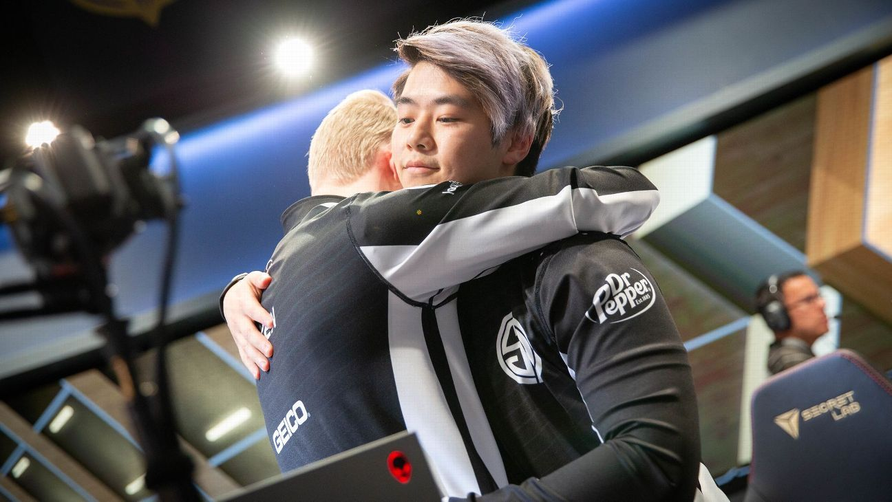 Smoothie finding trust in Team SoloMid