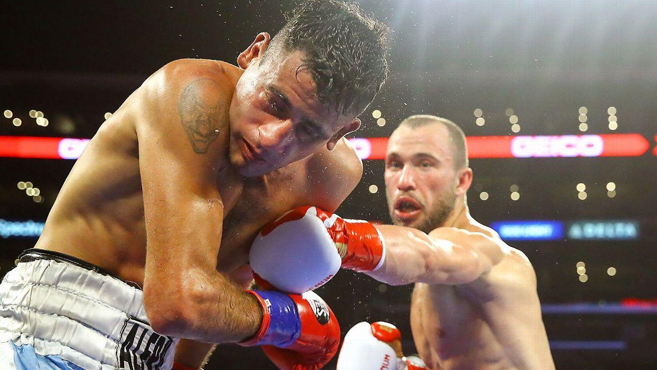 Radzhab Butaev, Alexander Besputin to fight for vacant welterweight title