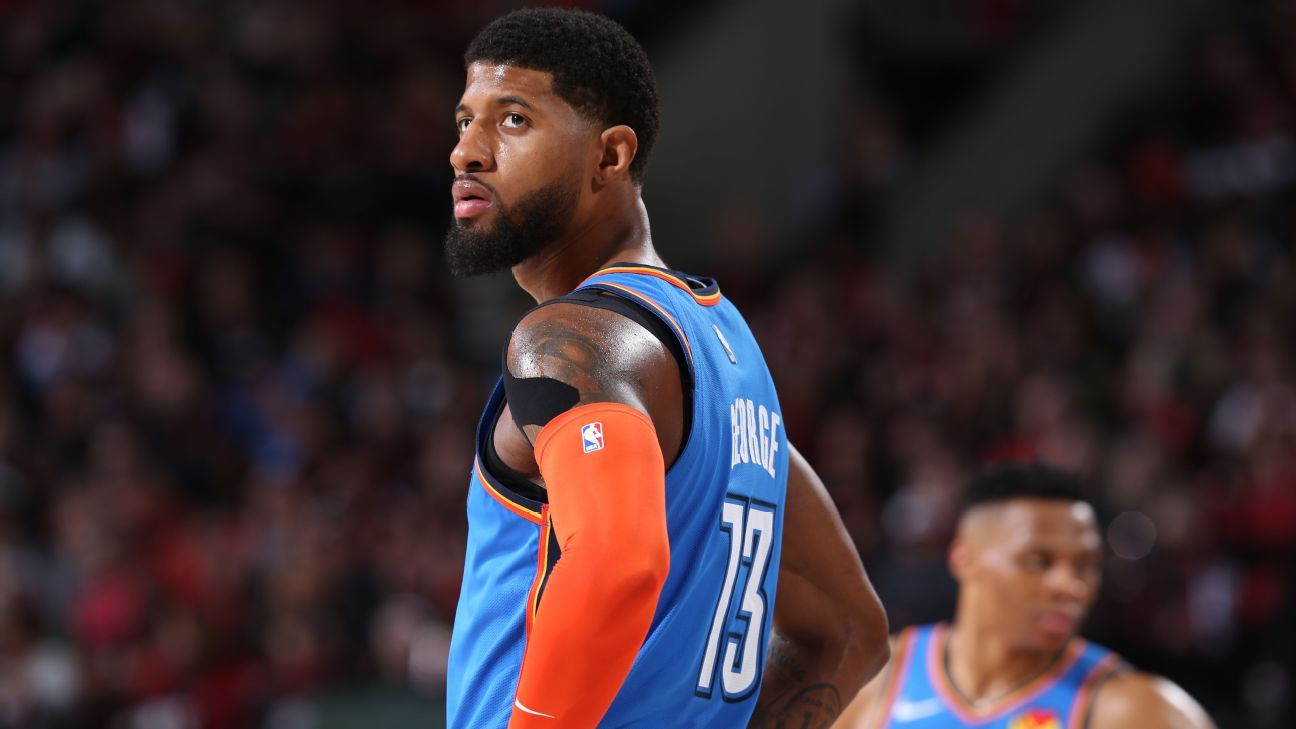 9a6ac1f4bc2 The Thunder will only go as far as Paul George can take them