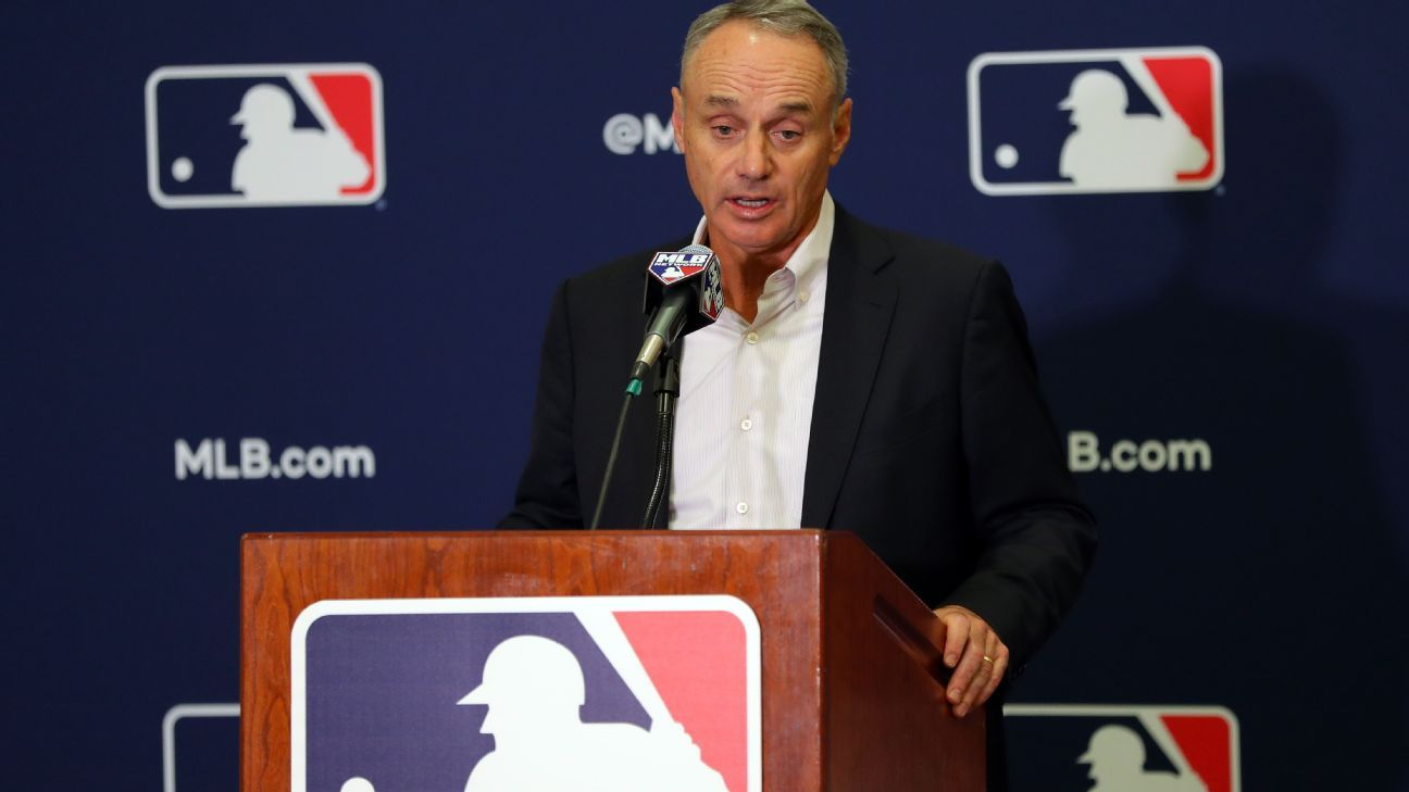Rob Manfred: Substance of Astros' post-ALCS incident a concern