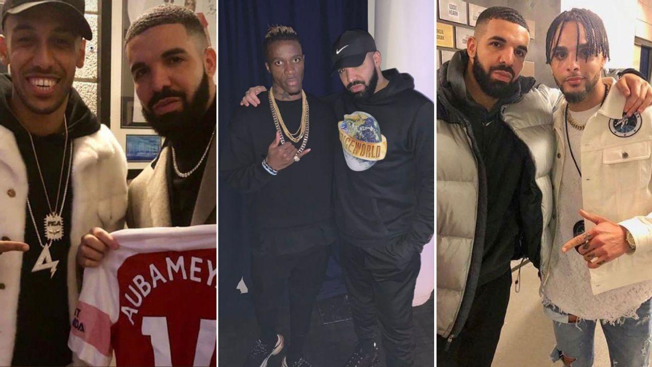 new style 83fbc 4789f Has 'Drake Curse' hit European soccer? PSG humiliation ...
