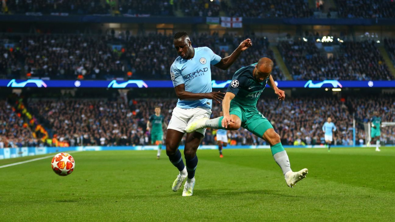 Spurs' Lucas Moura: City thriller most emotional I've ever played in