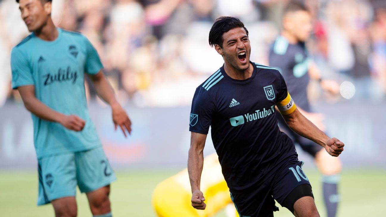 9fed9e24174 LAFC vs. Seattle Sounders FC - Football Match Report - April 21, 2019 - ESPN