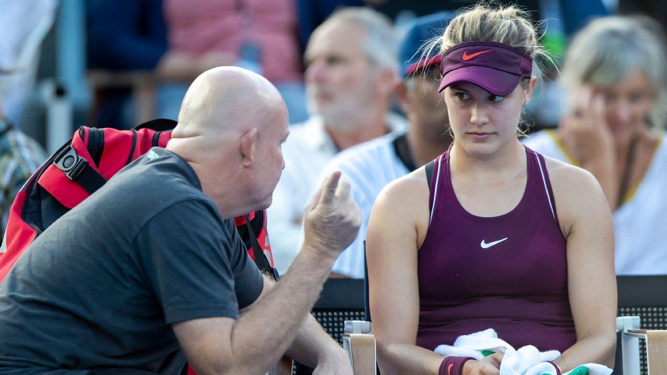 Eugenie Bouchard in split from coach Michael Joyce