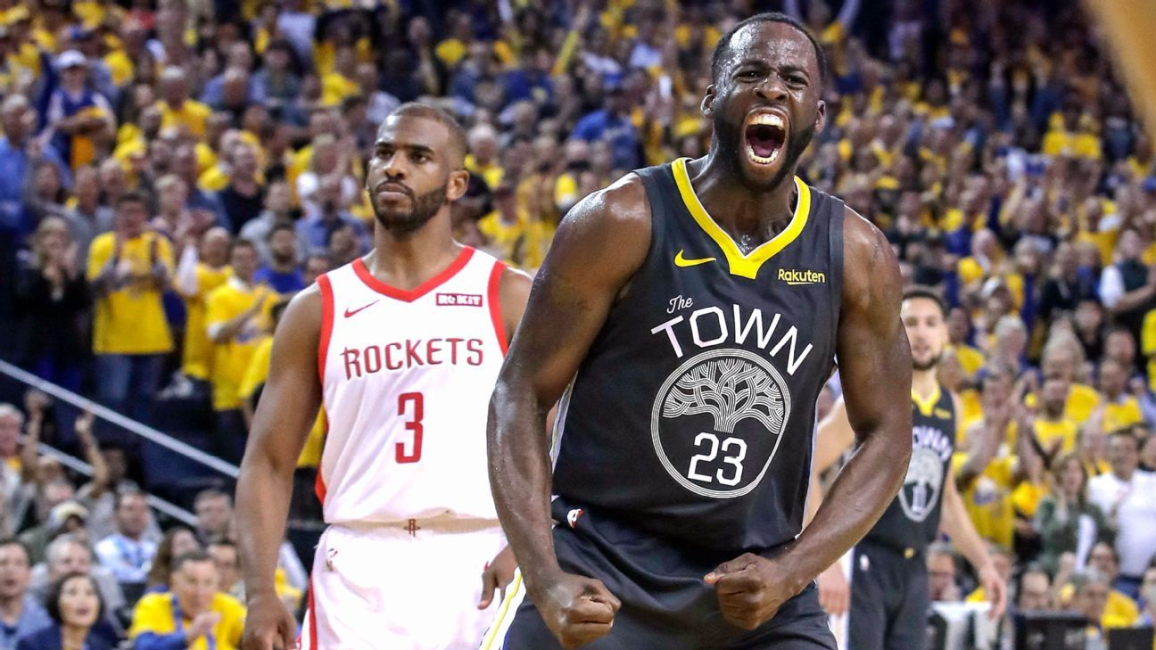 'Always a problem': Draymond Green is putting his stamp on the series