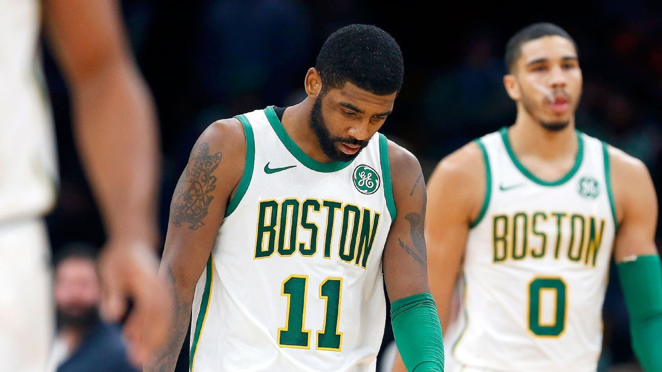 8d3d3903981b Kyrie Irving and the Celtics  state of dismay