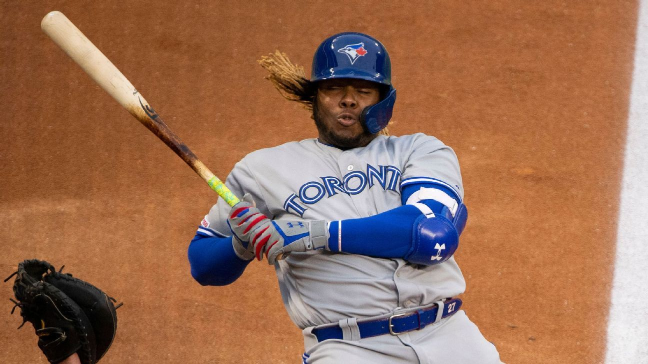 12a36eaaf Life came fast at Vladdy Jr.