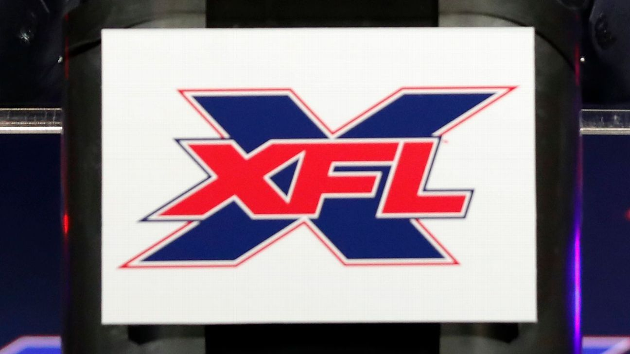 XFL unveils inaugural schedule for 2020 season