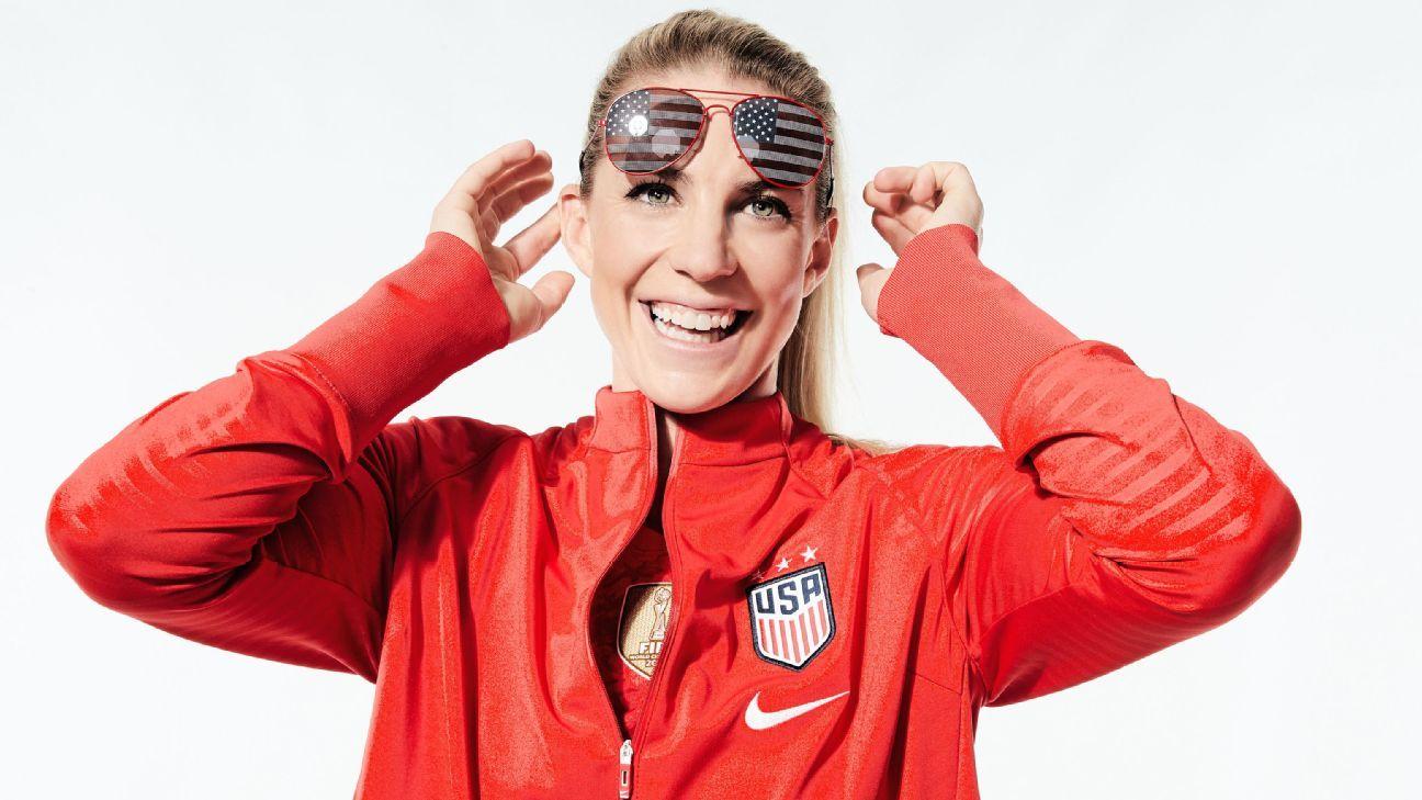 Julie Ertz is the ass kicker of the U.S. women's national team