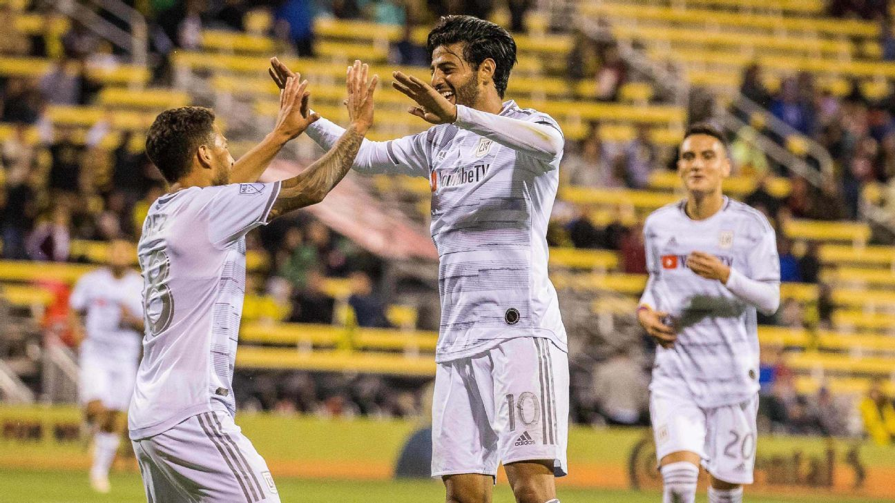 0da1dab80 MLS Power Rankings: LAFC, Seattle remain on top, but tough times for  Colorado continue