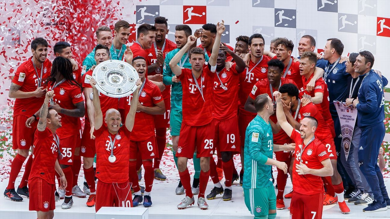 Bayern wrap up Bundesliga and say goodbye to legends. PLUS: Vincent Kompany calls time at Man City