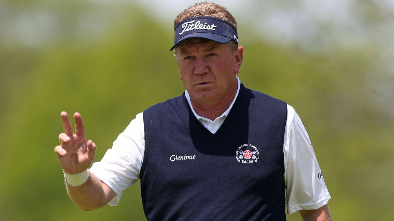 Broadhurst takes 2-shot lead at Sr. PGA Champ.