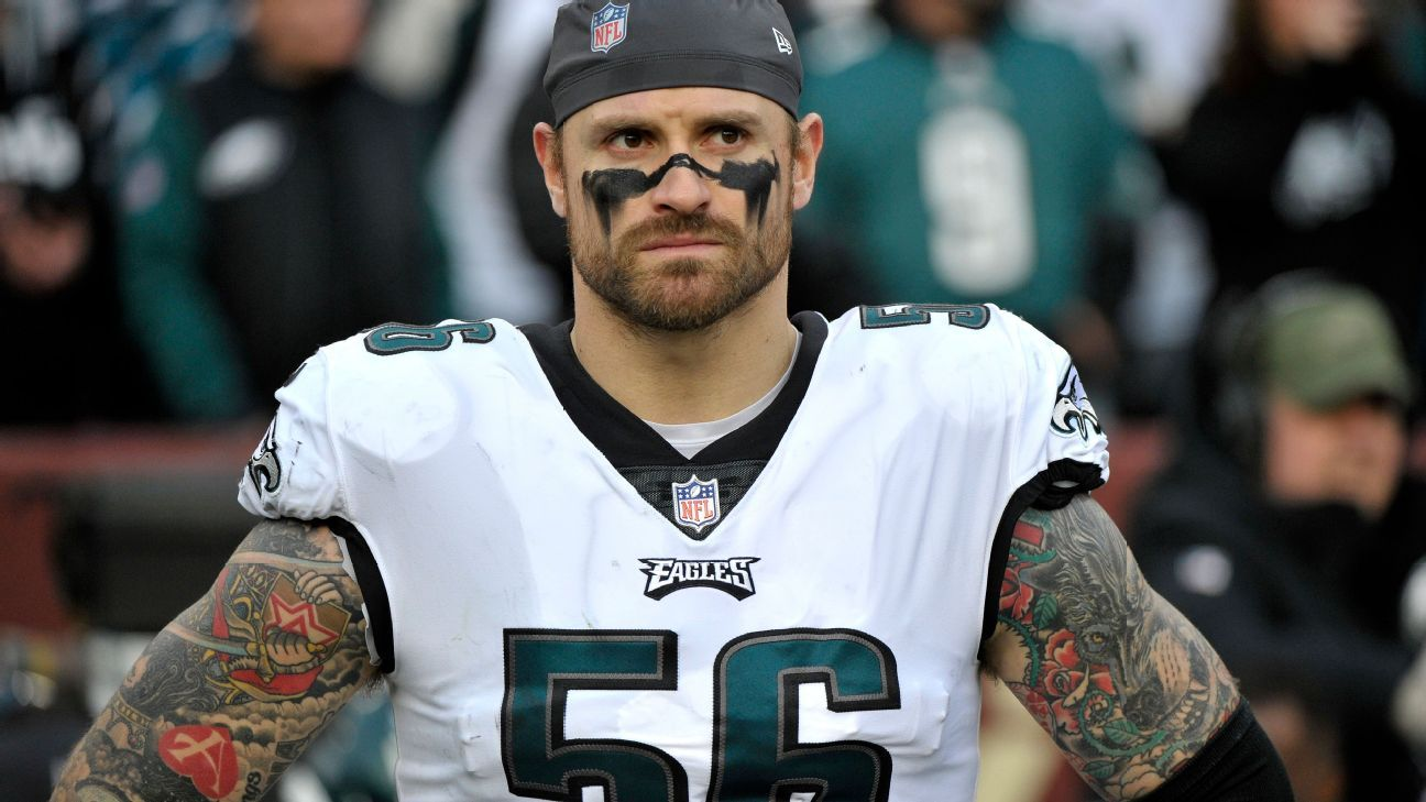 Chris Long said Tuesday that last week he talked about using marijuana in the hopes of destigmatizing the drug and hopes the NFL will one day lift the