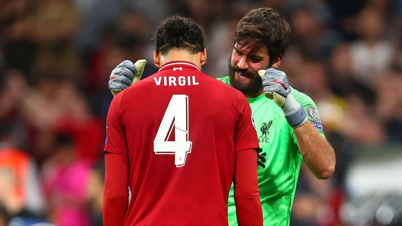 Alisson and Van Dijk set the foundation for Liverpool to seal Champions League glory