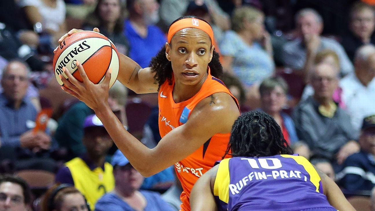 Jasmine Thomas is the glue that holds Connecticut Sun together