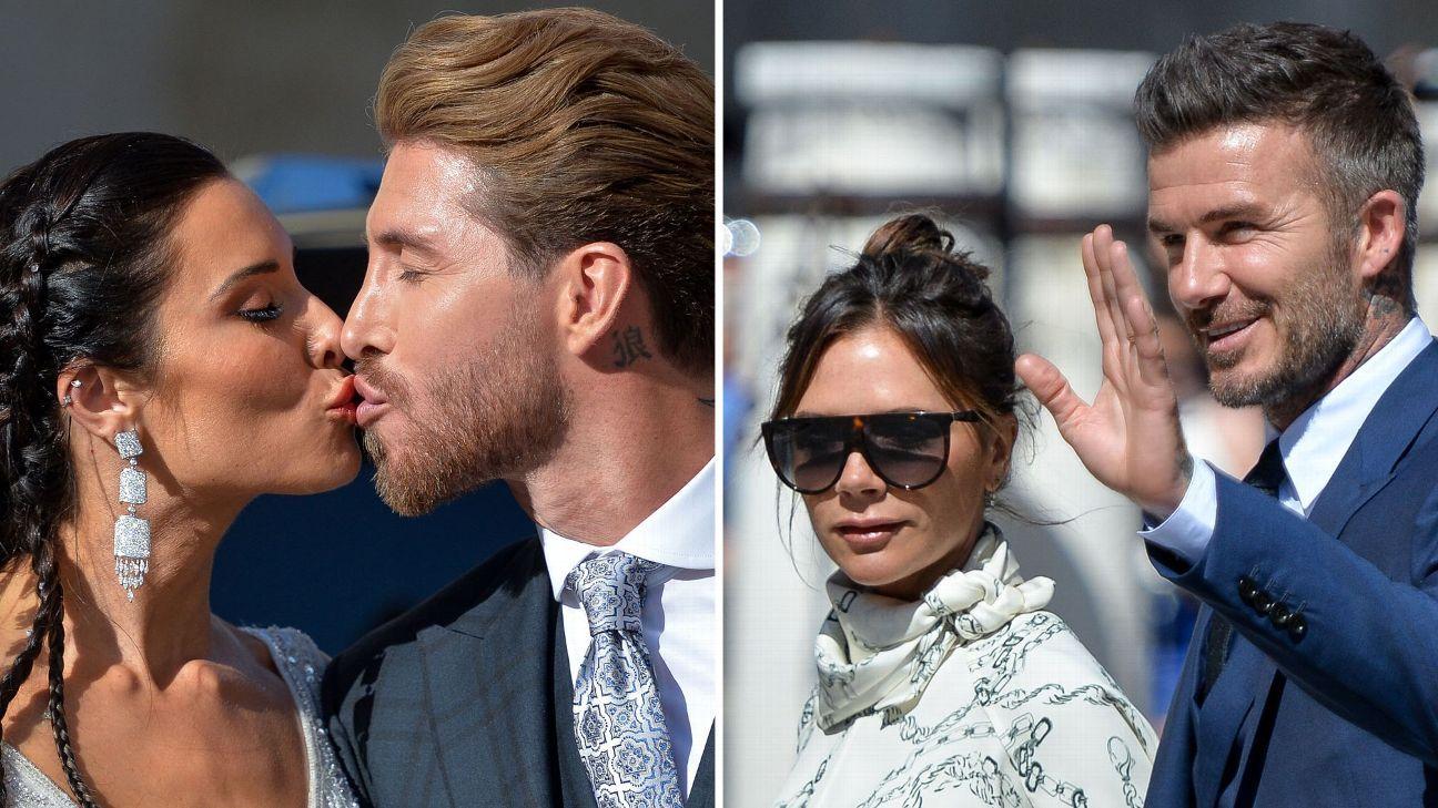 Toe Poke Daily: David Beckham among star guests at Sergio Ramos wedding -- but where was Cristiano Ronaldo?