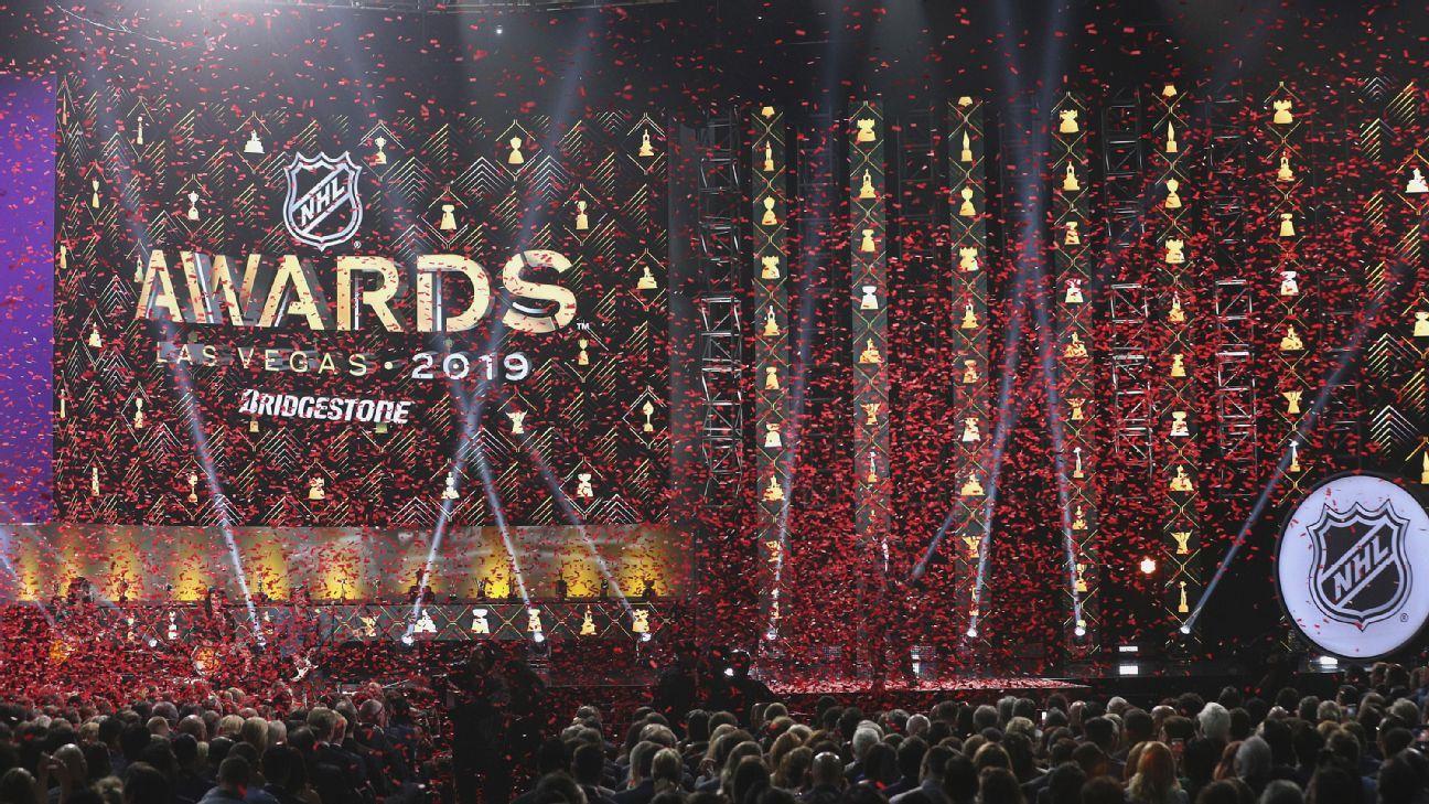 All of the 2019 NHL Award winners