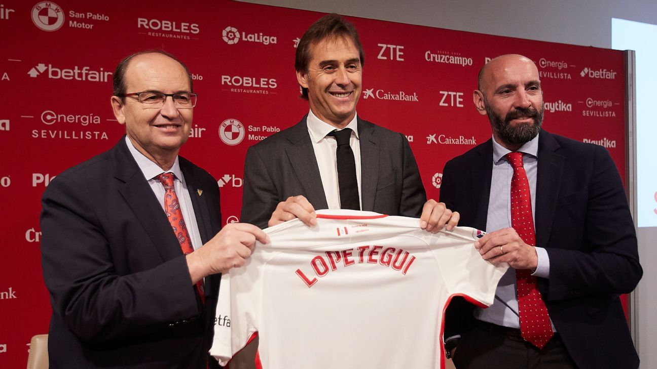 After Real Madrid failure, Lopetegui is on a mission with Sevilla