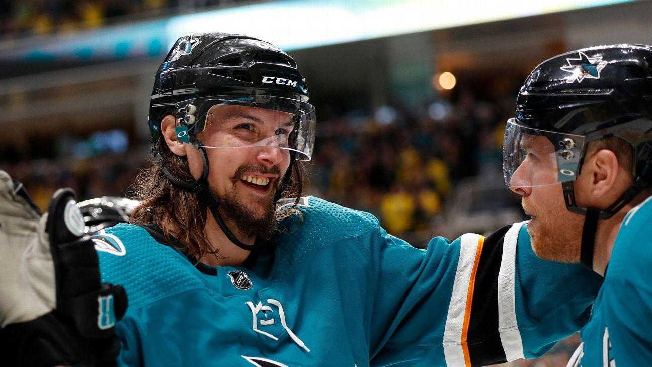 Sharks' Karlsson (thumb) ruled out for season