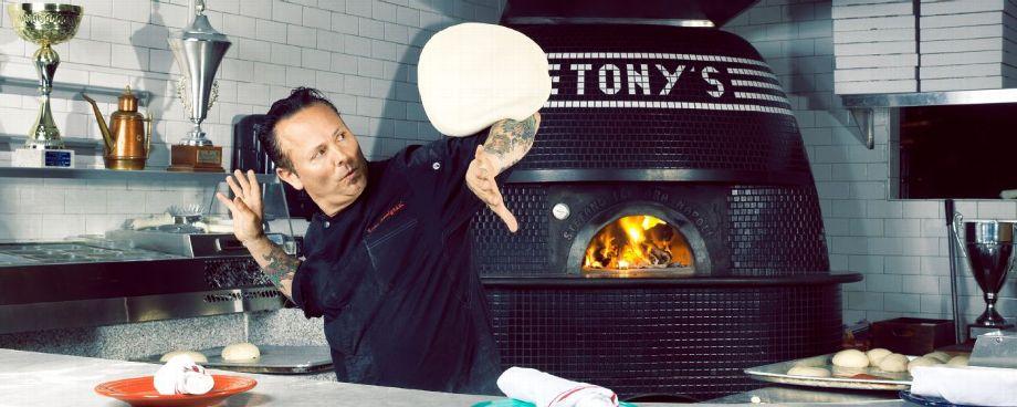 Dough nuts: Tony Gemignani explains pizza acrobatics