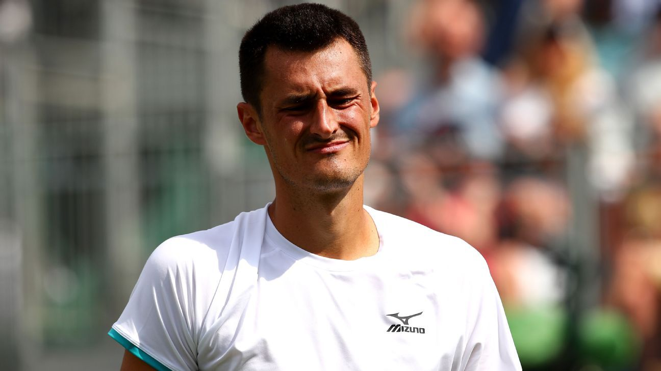 Tomic sees Wimbledon fine appeal shot down