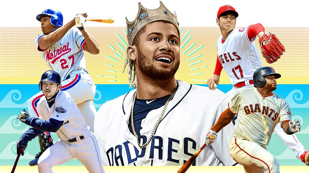 Fernando Tatis Jr. and MLB's Most Exciting Player every year since he was born