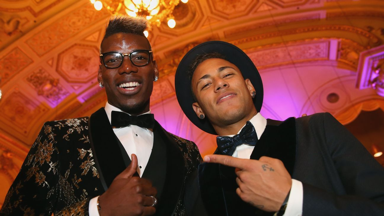 Neymar and Pogba proving that 'brand' players come with no guarantee of success