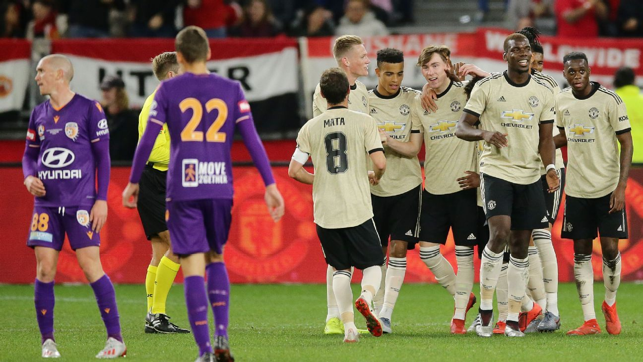 Manchester United Vs. Perth Glory
