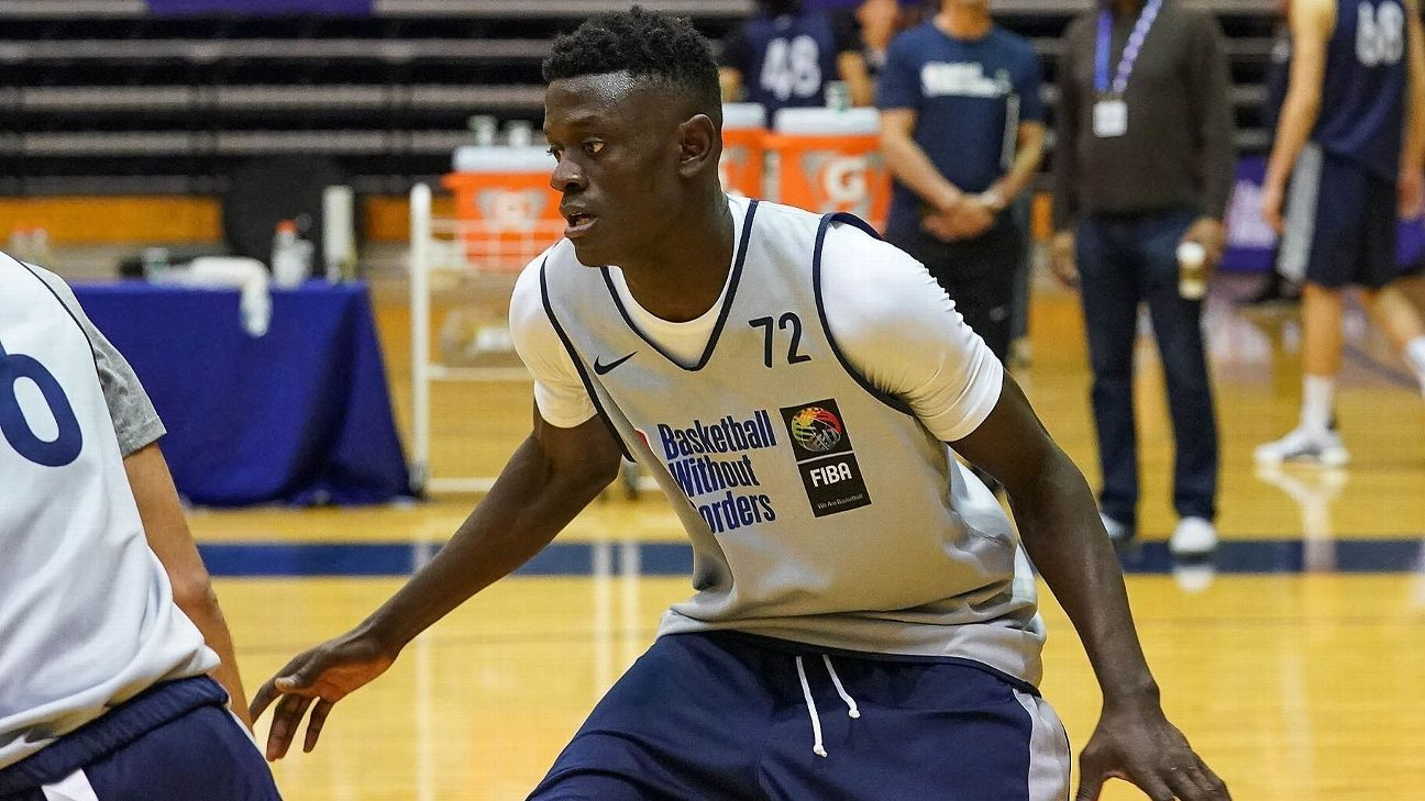 Projected 1st-rounder Sylla signs with Oostende