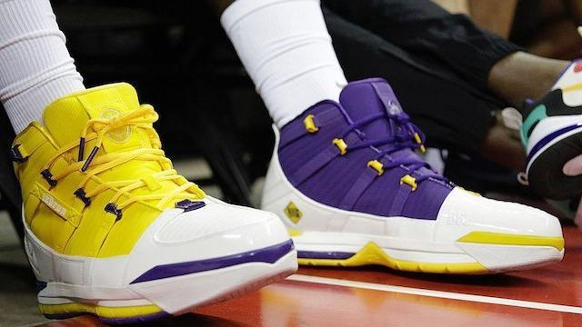 Which player had the best sneakers at summer league?