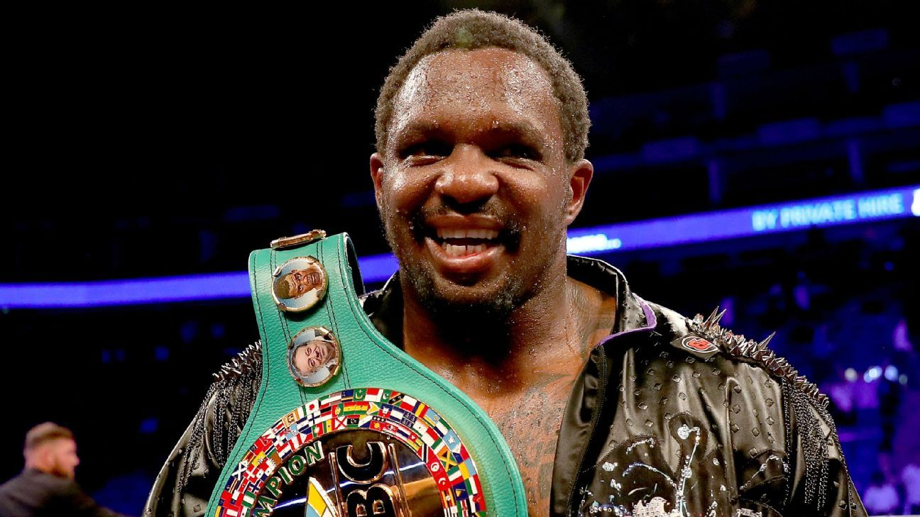 Dillian Whyte reinstated as WBC's interim heavyweight world champ