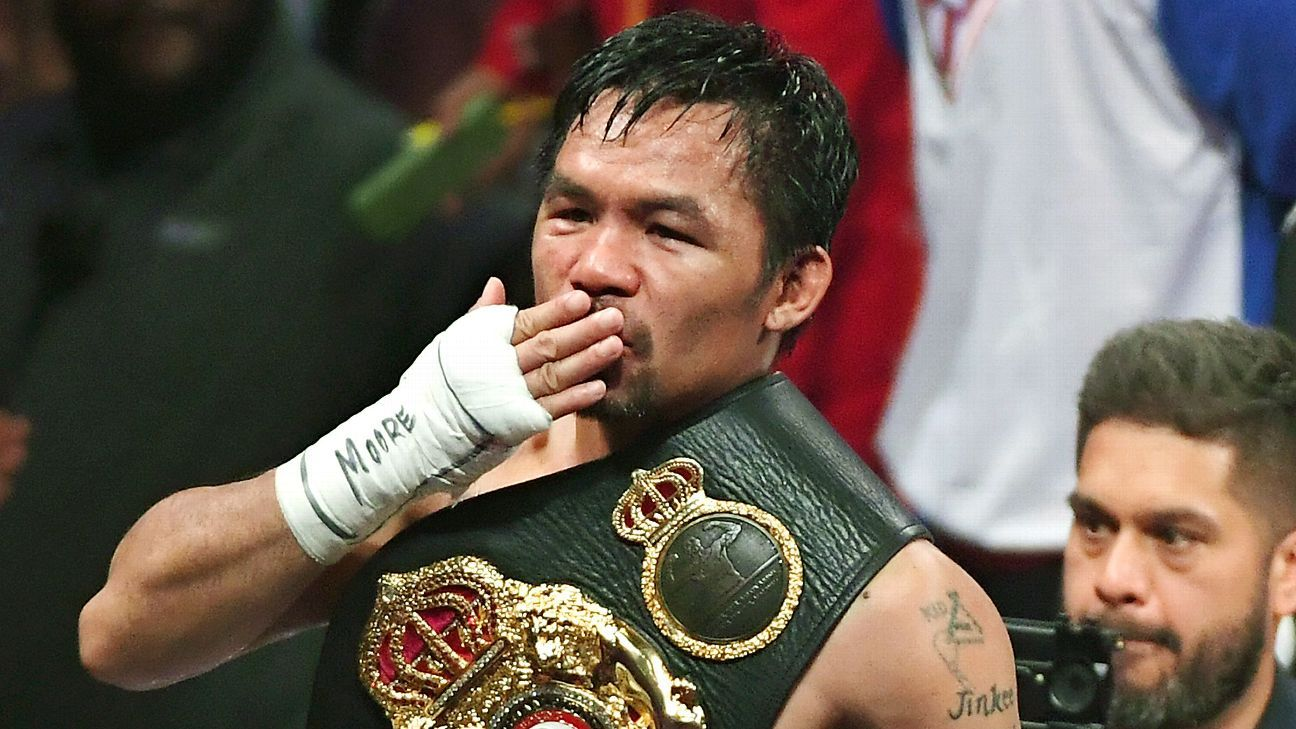 Manny Pacquiao remains the most riveting fighter of his generation