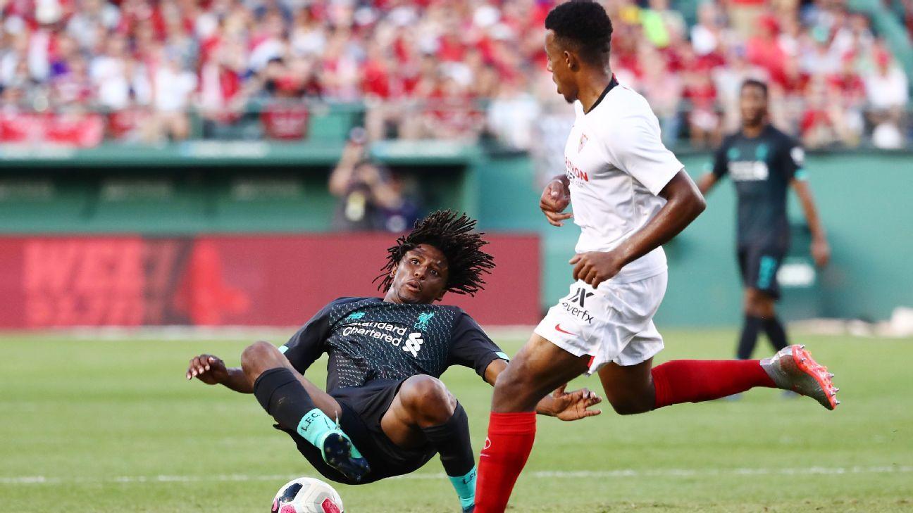 Horror tackle mars Liverpool loss to Sevilla
