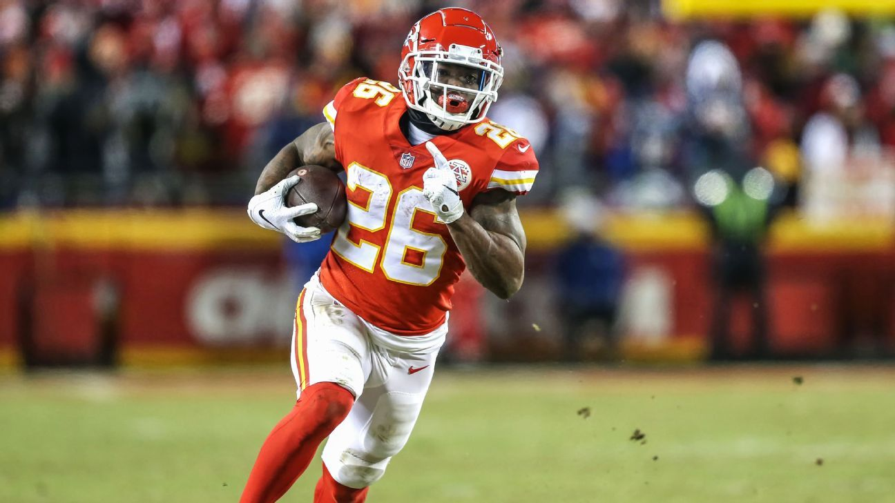 Chiefs Rb Damien Williams Opting Out Of 2020 Season