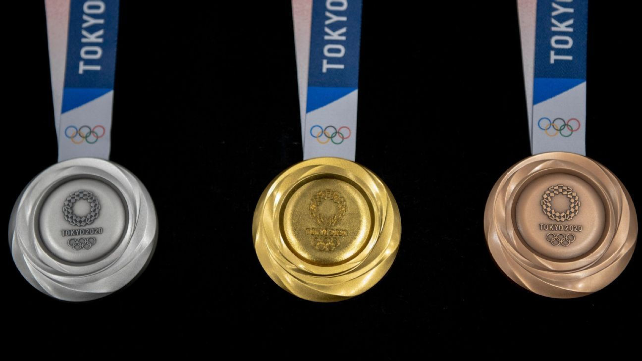 Athletes to put on own Olympic medals in Tokyo to prevent virus spread