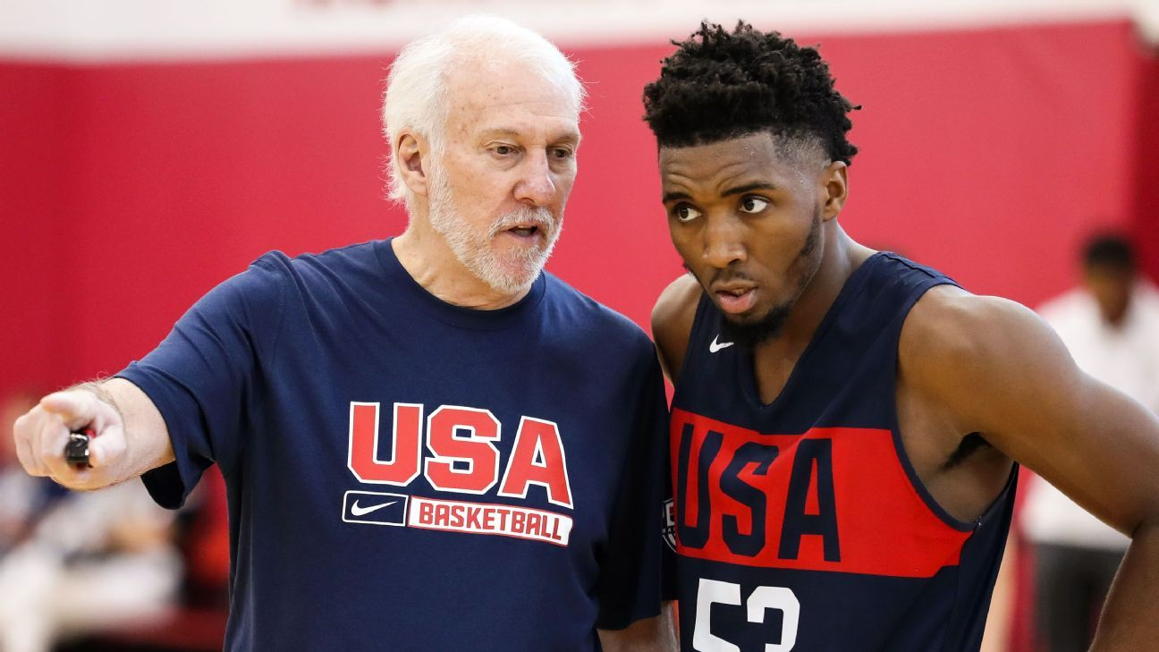 Team USA takeaways: Pop's plans, scrimmage woes and more talking points